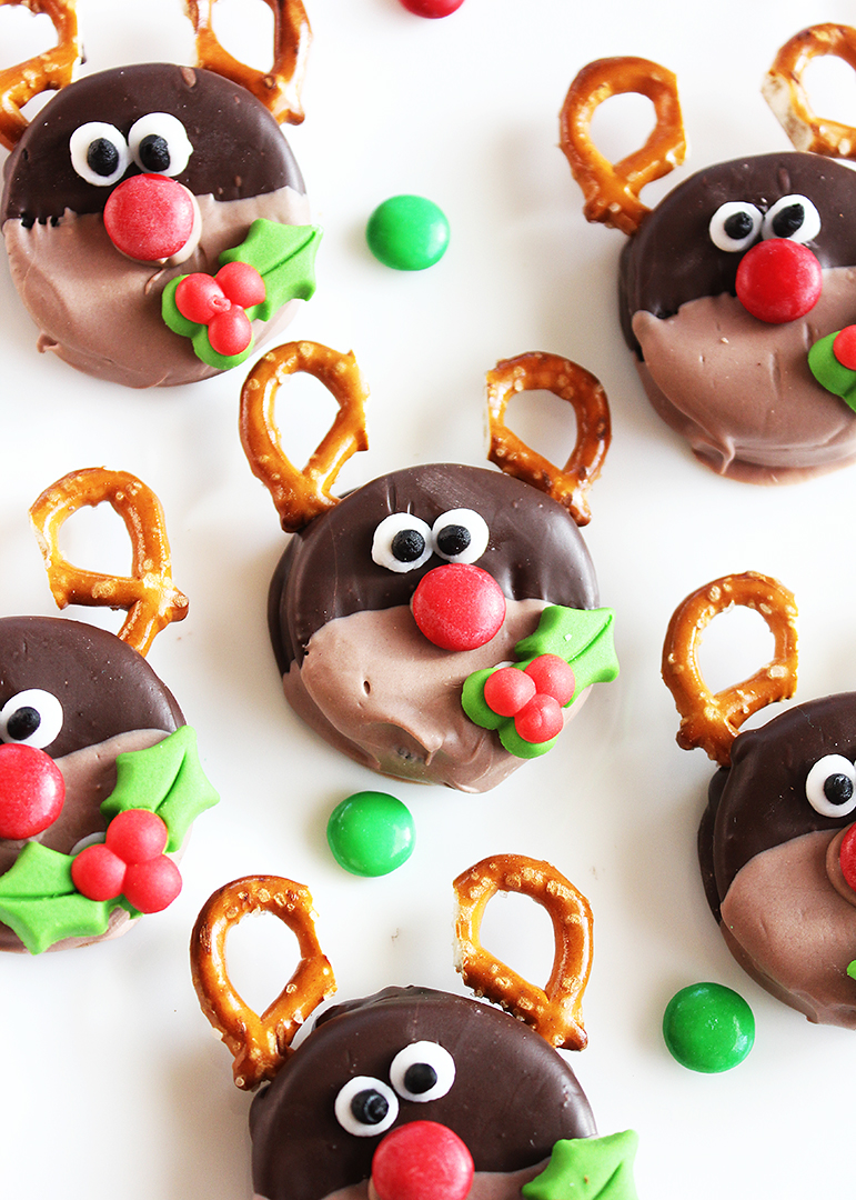 Rudolph Christmas Oreo Cookies