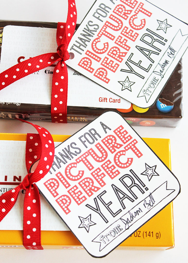 Movie Candy Teacher Appreciation Gifts