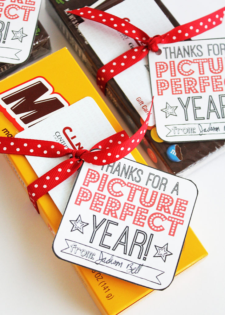 Movie Gift Card Teacher Gift