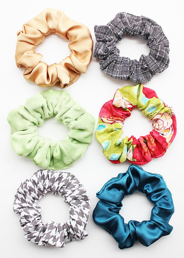 Fabric Hair Scrunchie Pattern
