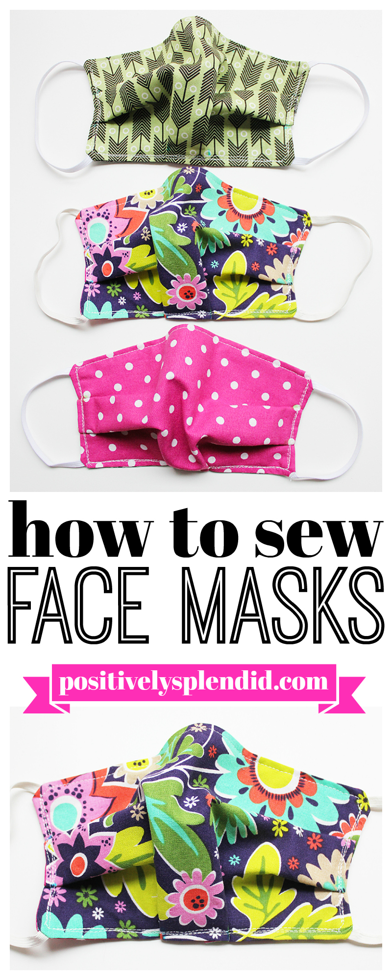 How to Sew Cloth Face Masks